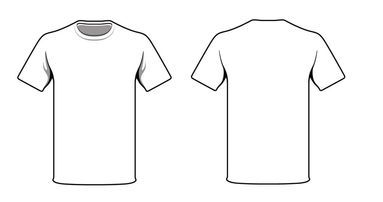 Free Blank Tshirt, Download Free Clip Art, Free Clip Art On With Regard To Blank Tshirt Template Pdf