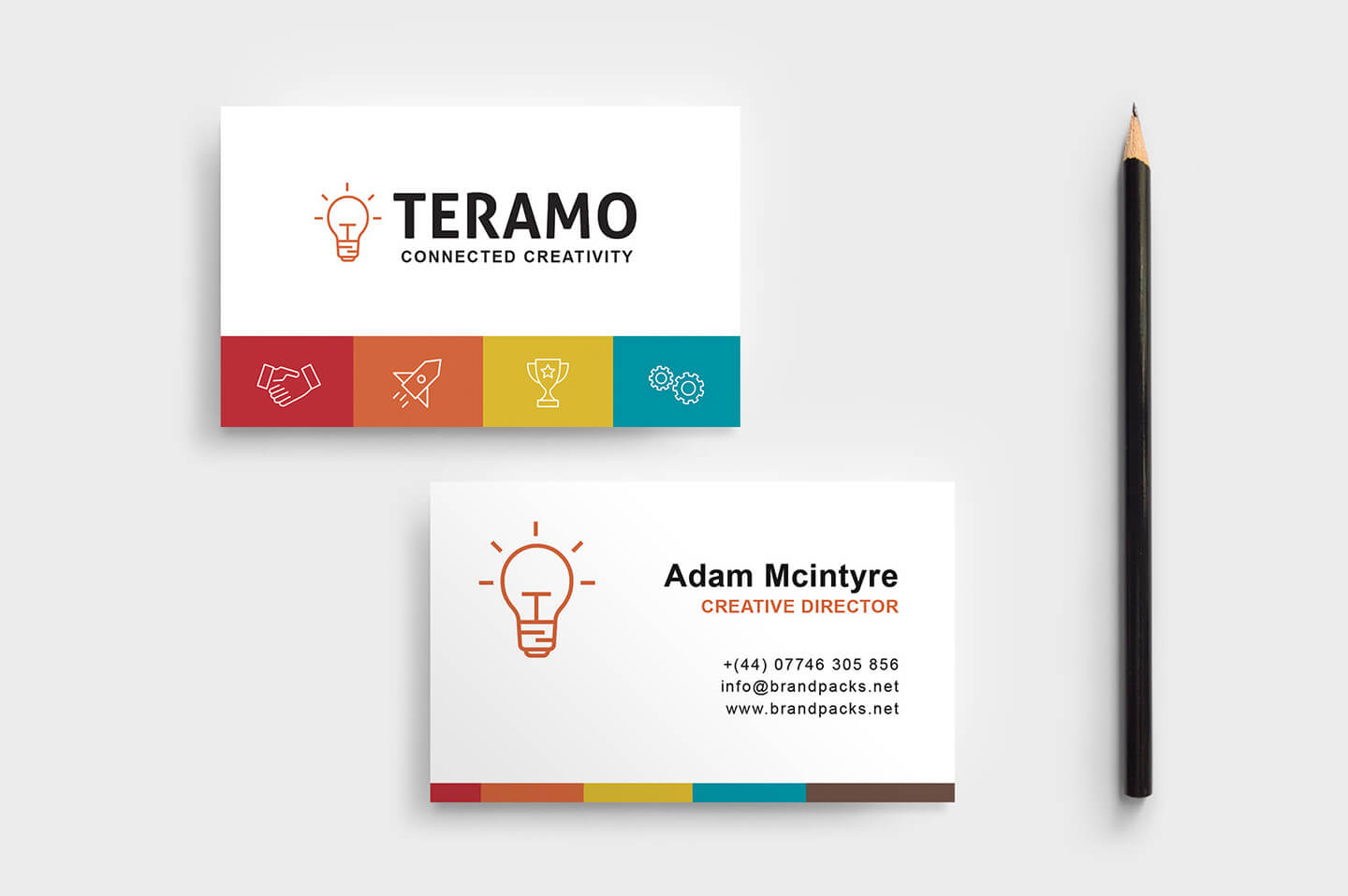 Free Business Card Template In Psd, Ai & Vector – Brandpacks With Create Business Card Template Photoshop