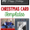 Free Christmas Card Templates – Crazy Little Projects Pertaining To Free Christmas Card Templates For Photographers