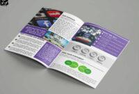 Free Download Bi-Fold Social Media Company Brochure Template in Social Media Brochure Template