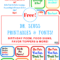 Free Dr. Seuss Printables & Fonts! For Dr Seuss Birthday Card Template