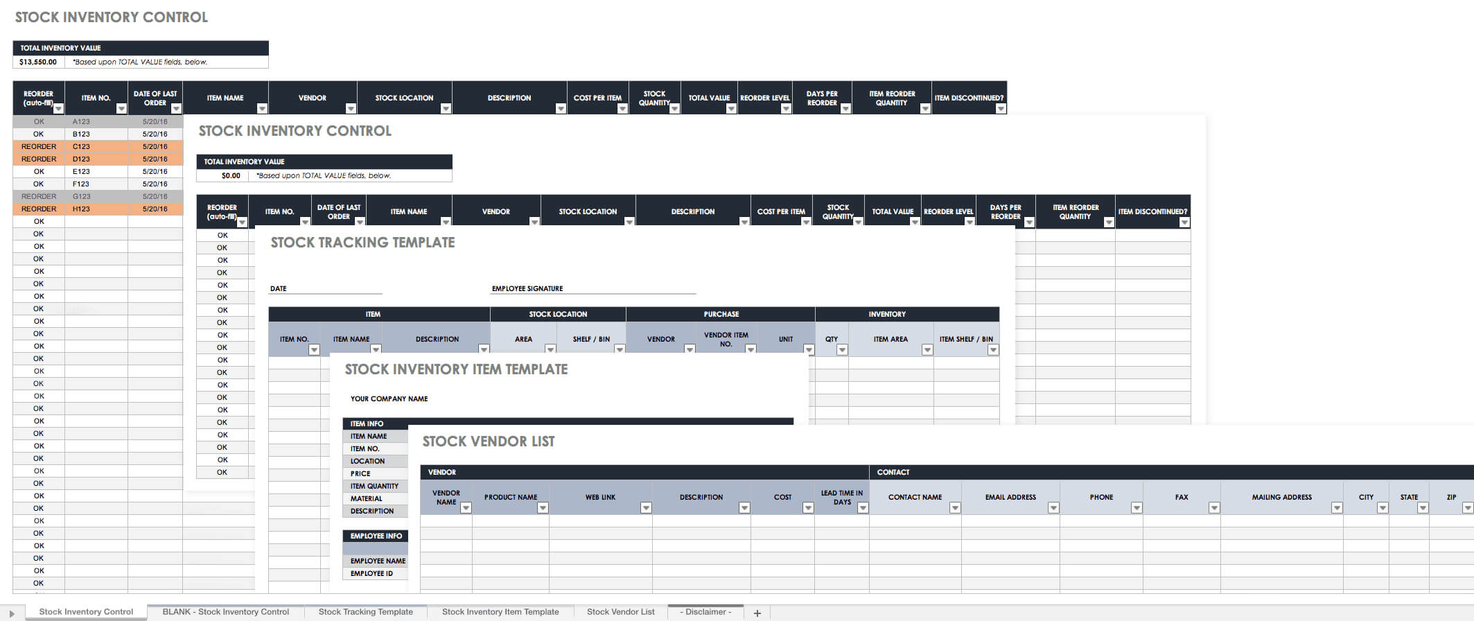 Free Excel Inventory Templates: Create & Manage ...