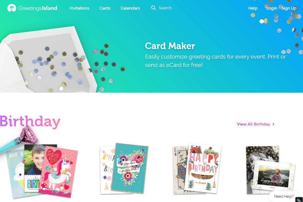 Free Greeting Card Templates For All Occasions For Template For Cards To Print Free