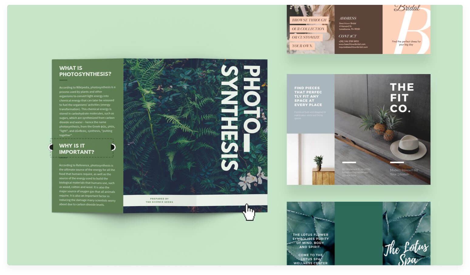 Free Online Brochure Maker: Design A Custom Brochure In Canva Regarding Product Brochure Template Free