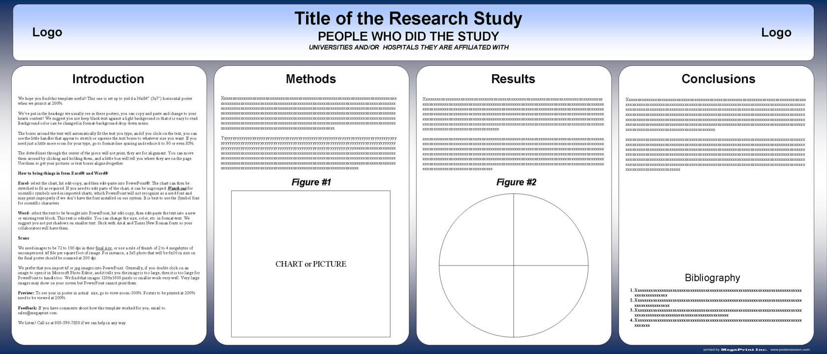 Free Powerpoint Scientific Research Poster Templates For Pertaining To Powerpoint Academic Poster Template