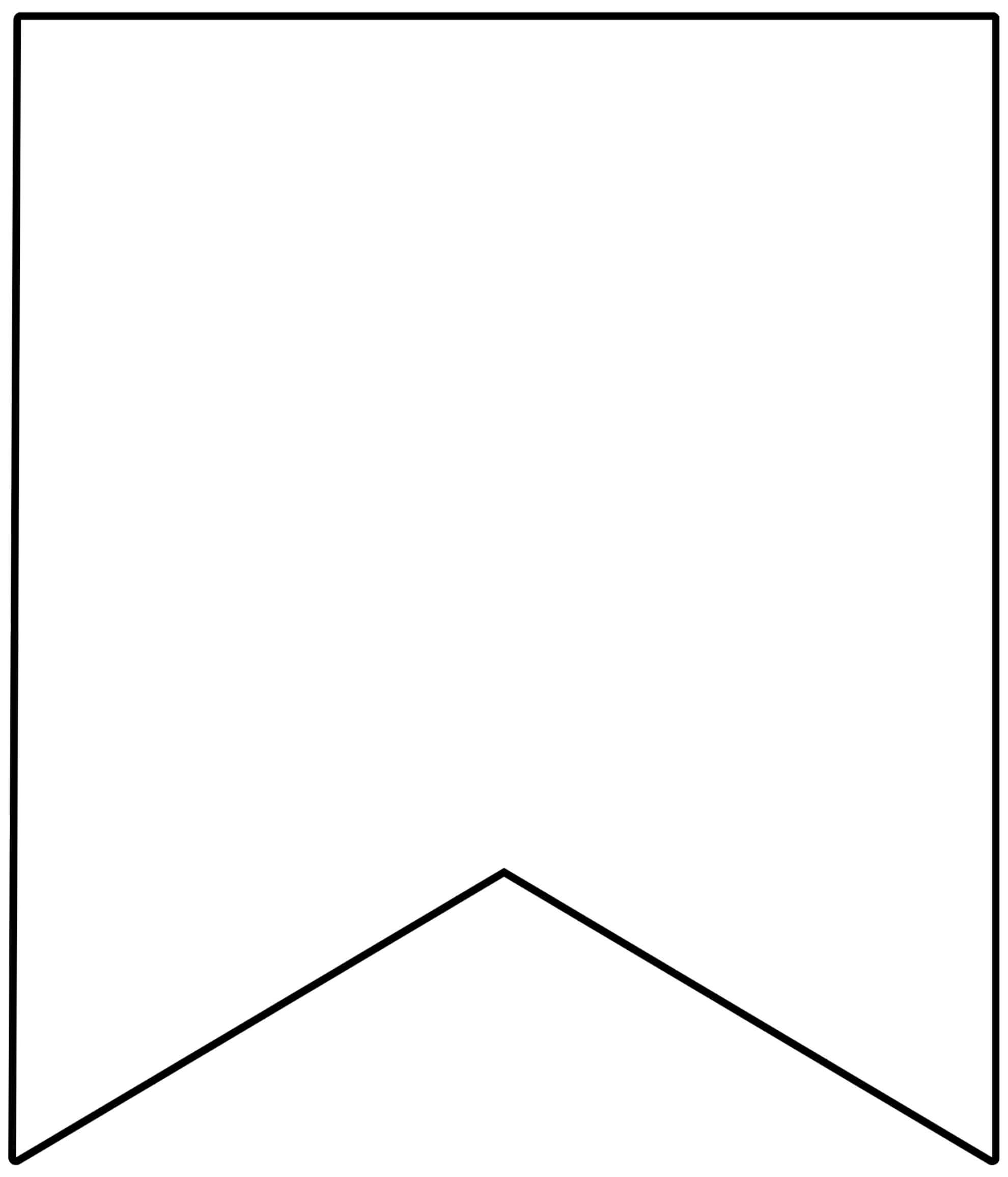 Free Printable Banner Templates {Blank Banners} - Paper Regarding Homemade Banner Template
