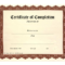 Free Printable Certificates | Certificate Templates Inside Free Certificate Of Completion Template Word