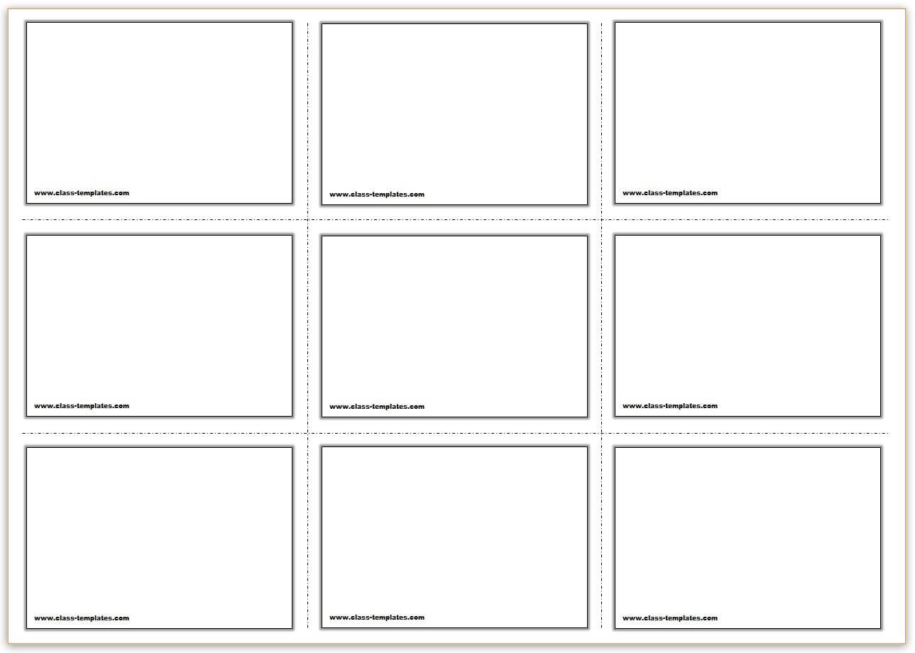 Free Printable Flash Cards Template Within Flashcard Template Word