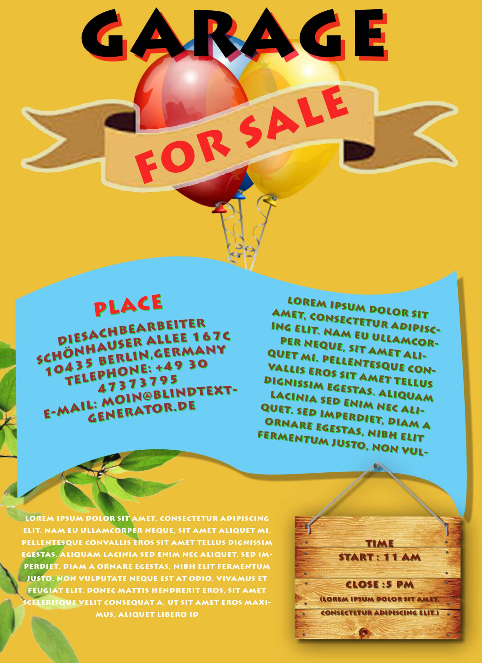 Free Printable Garage Sale Flyers Templates – Attract More Pertaining To Garage Sale Flyer Template Word