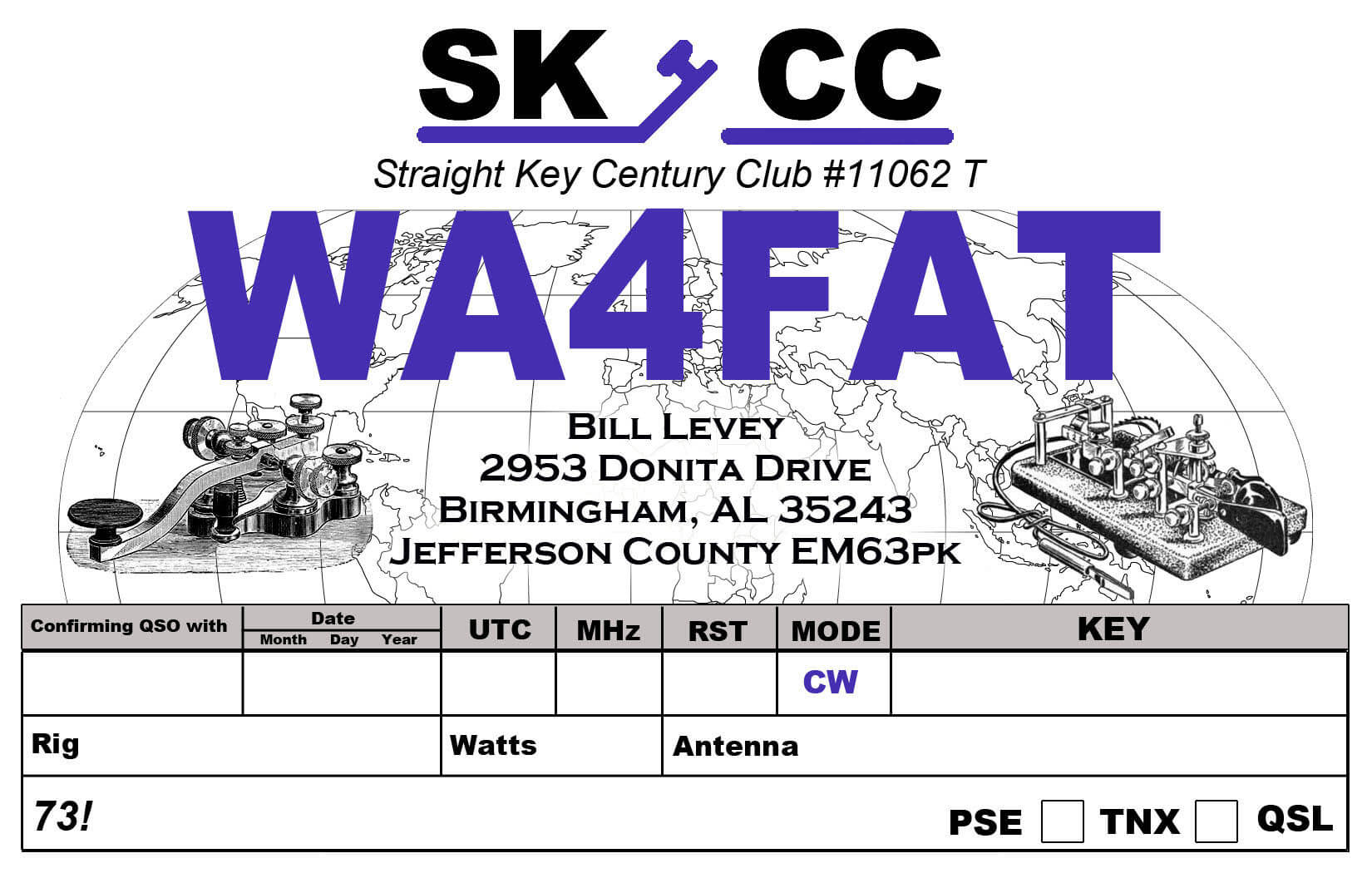 Free Qsl Card Maker For Mac intended for Qsl Card Template ...
