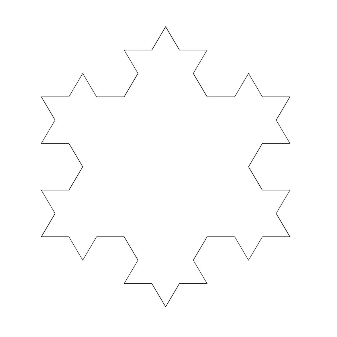 Free Snowflake Outline, Download Free Clip Art, Free Clip Within Blank Snowflake Template