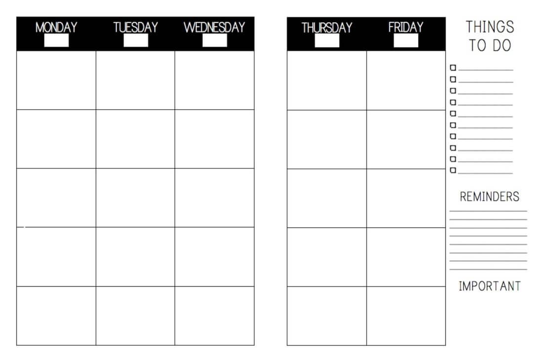 Free Teacher Lesson Plan Book Template - Zohre In Teacher Plan Book Template Word