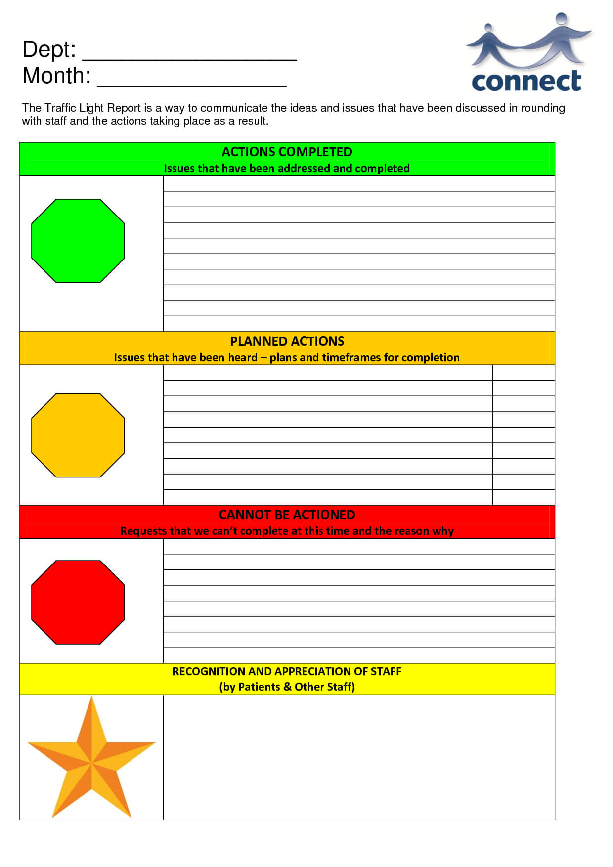 Free Traffic Light Template, Download Free Clip Art, Free For Stoplight Report Template