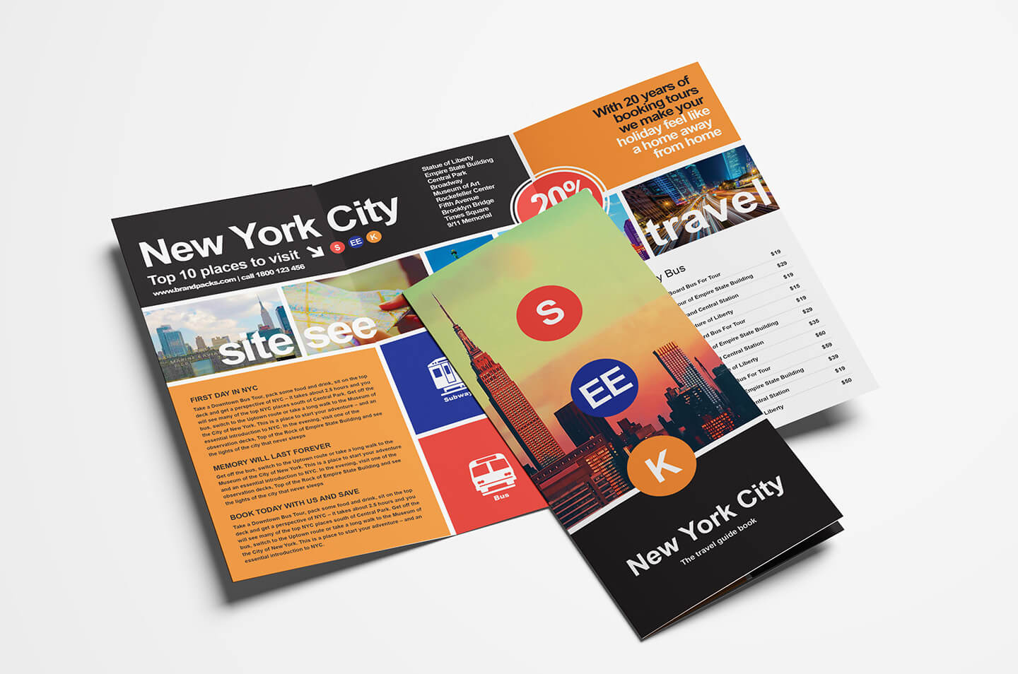Free Travel Trifold Brochure Template For Photoshop Within Travel And Tourism Brochure Templates Free