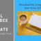 Freebie: Customizable And Printable 3X5 Index Card Template Inside 3 By 5 Index Card Template