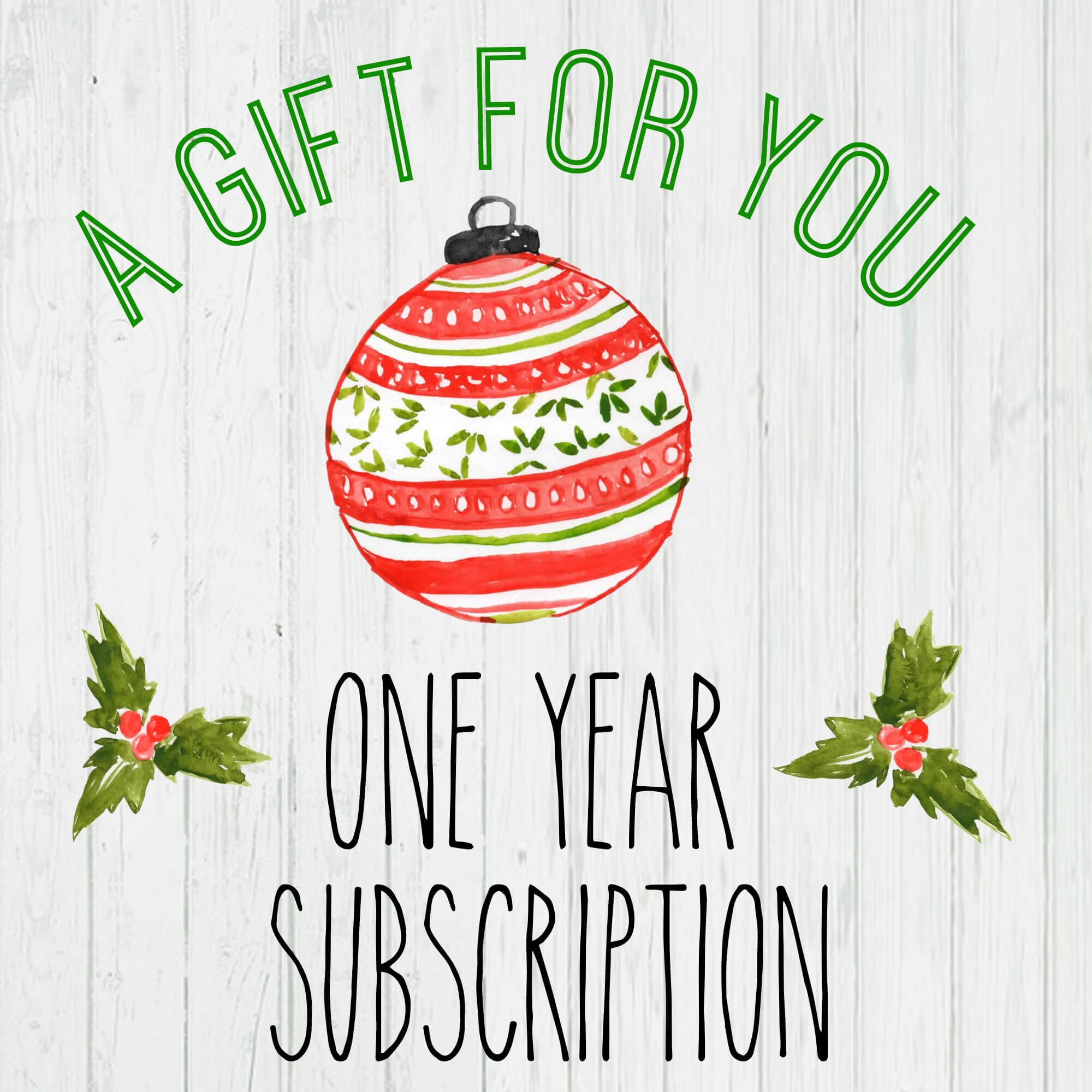 Gift A Magazine Subscription With Our Free Printable Cards Pertaining To Magazine Subscription Gift Certificate Template