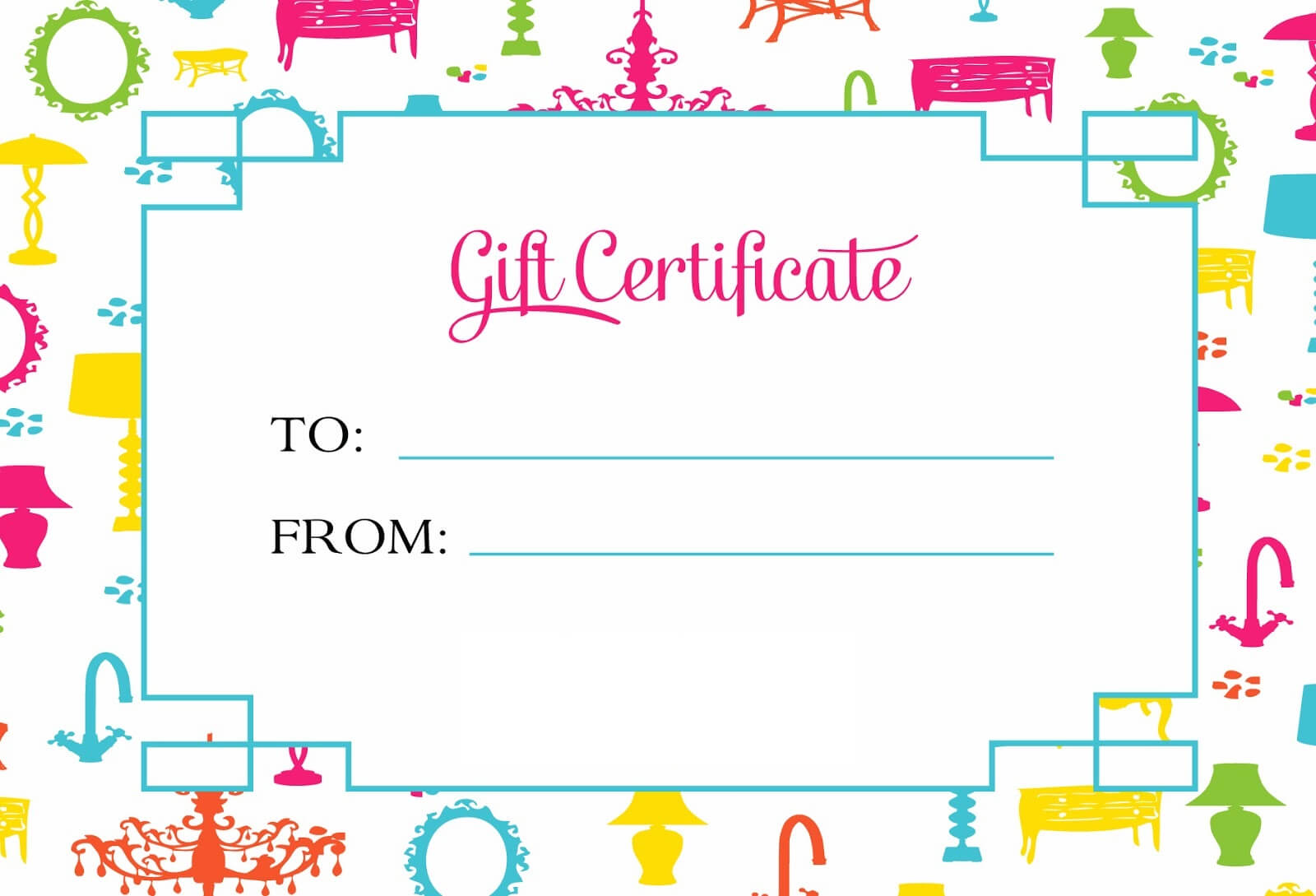 Gift Certificate Template For Kids Blanks   Loving Printable Within Kids Gift Certificate Template