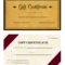 Gift Certificate Templates – Wikihow In Homemade Christmas Gift Certificates Templates