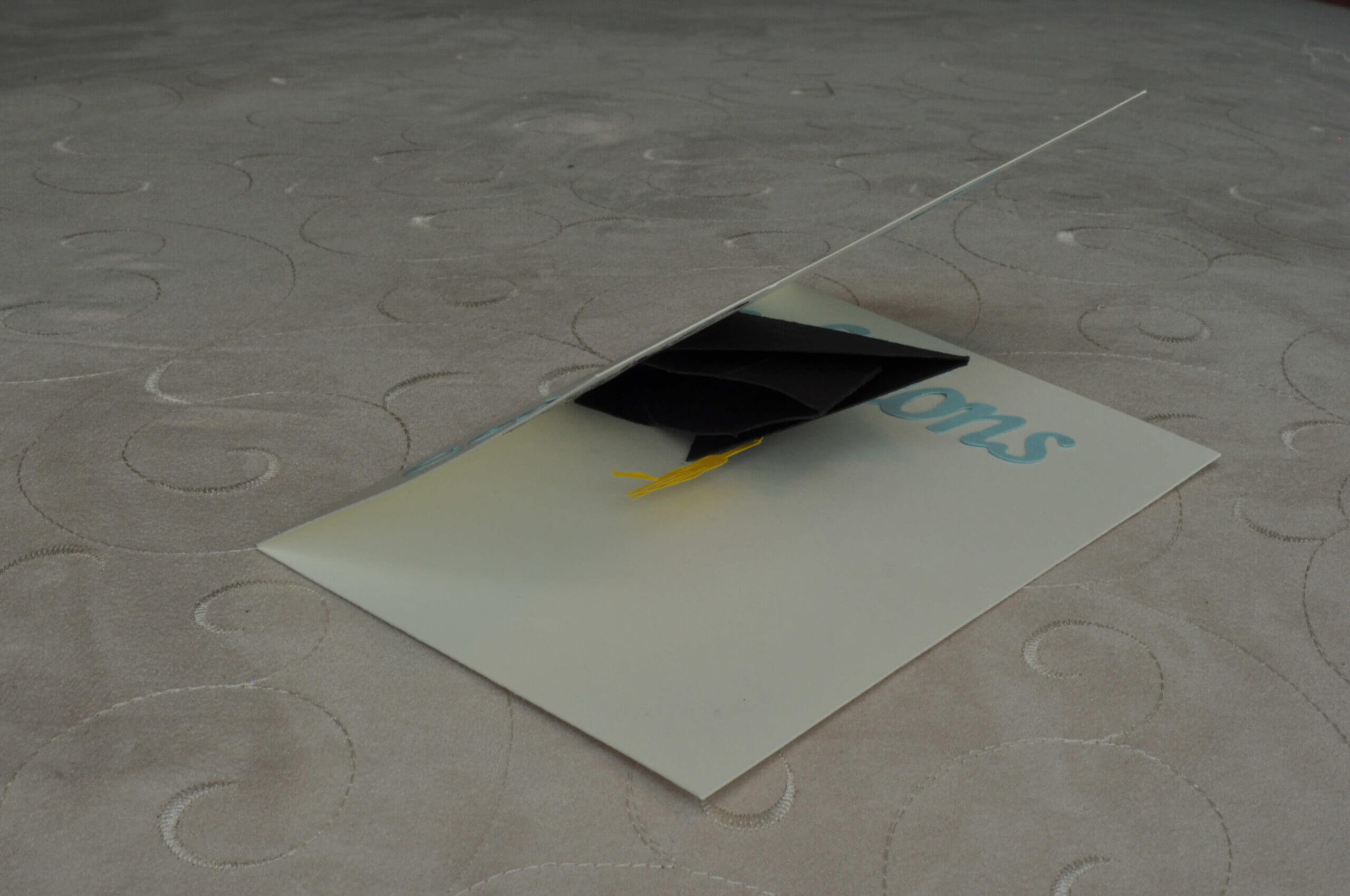 Graduation Pop Up Card: 3D Cap – Creative Pop Up Cards Pertaining To Graduation Pop Up Card Template