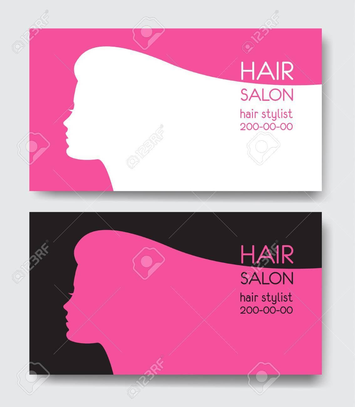 Hair Salon Business Card Templates. Regarding Hair Salon Business Card Template
