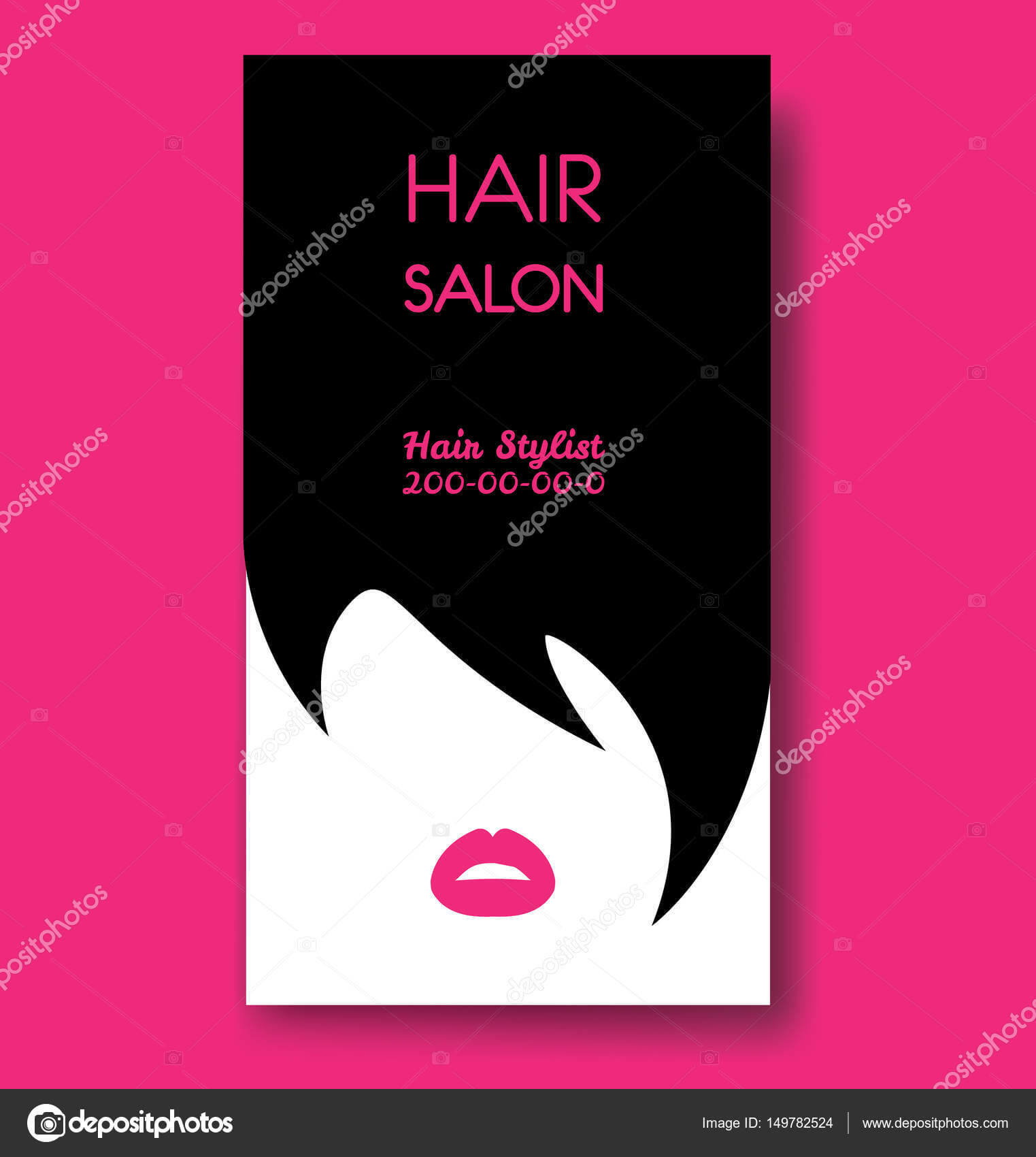 Hair Stylist Business Cards Examples   Hair Salon Business Pertaining To Hair Salon Business Card Template