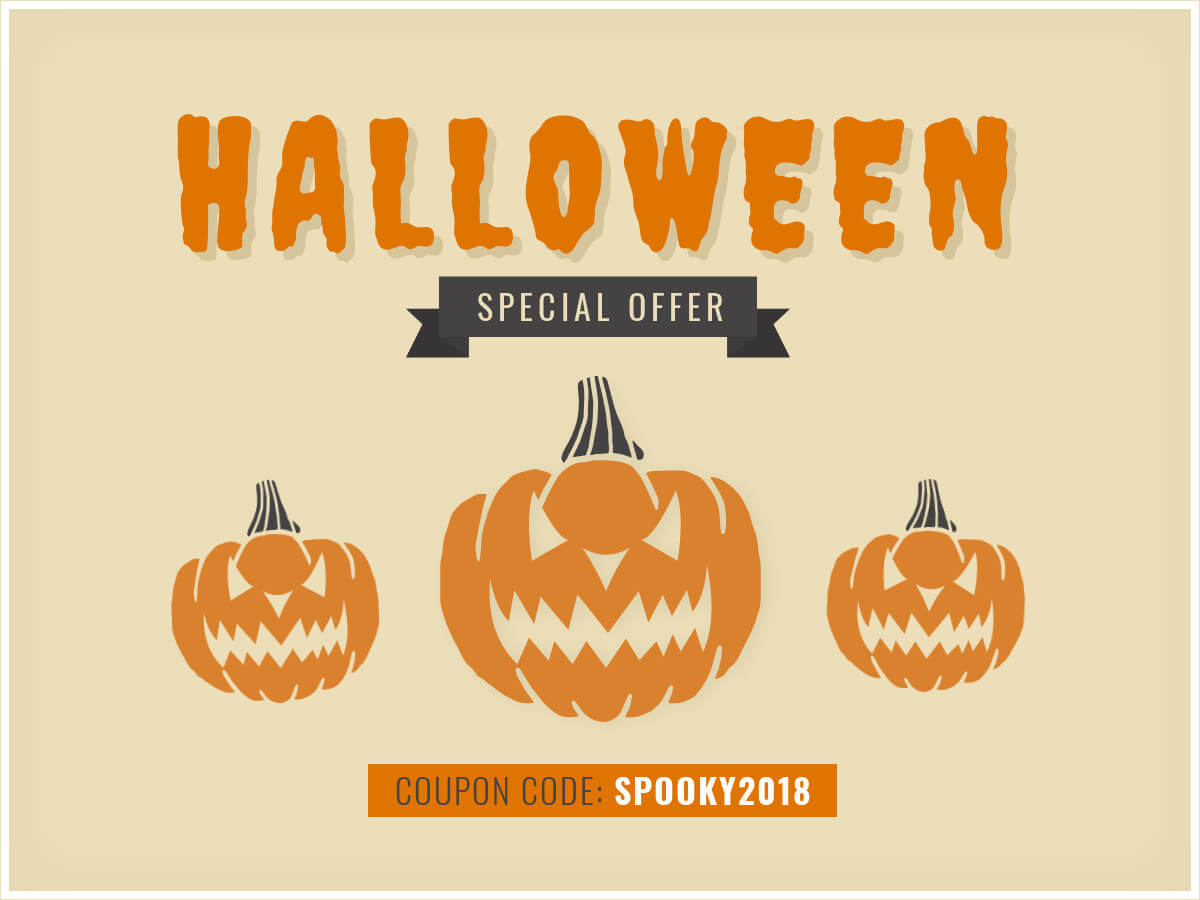 Halloween - Special Offer - Animated Banner Template Pertaining To Animated Banner Template