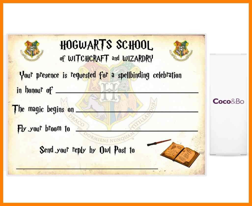 Harry Potter Certificate Template 1 Metal Spot Price For Harry Potter Certificate Template