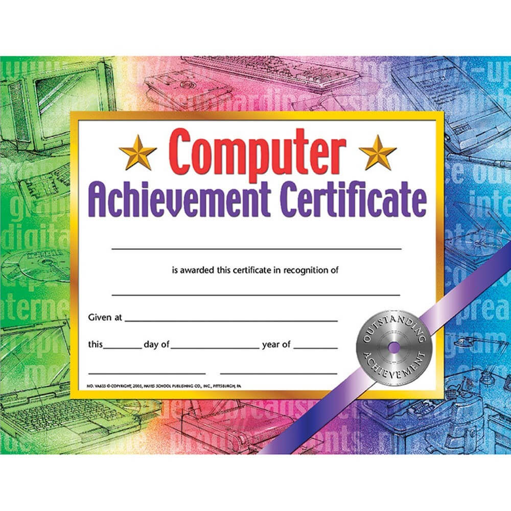 Hayes Certificate Templates ] - Hayes Perfect Attendance Intended For Hayes Certificate Templates