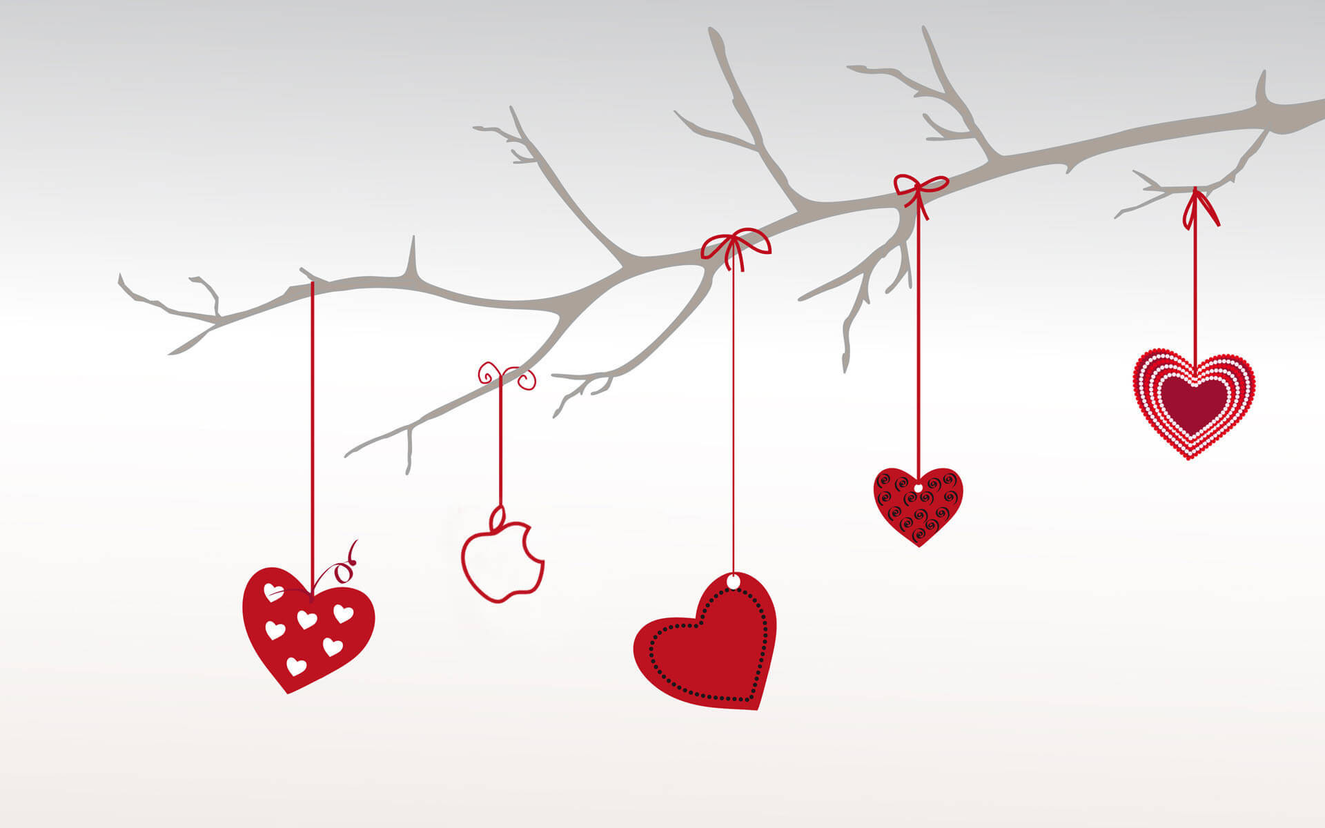 Heart Branch For Valentine Day Backgrounds For Powerpoint Within Valentine Powerpoint Templates Free