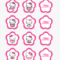 Hello Kitty Cupcake Topper Template, Hd Png Download – Kindpng With Hello Kitty Banner Template