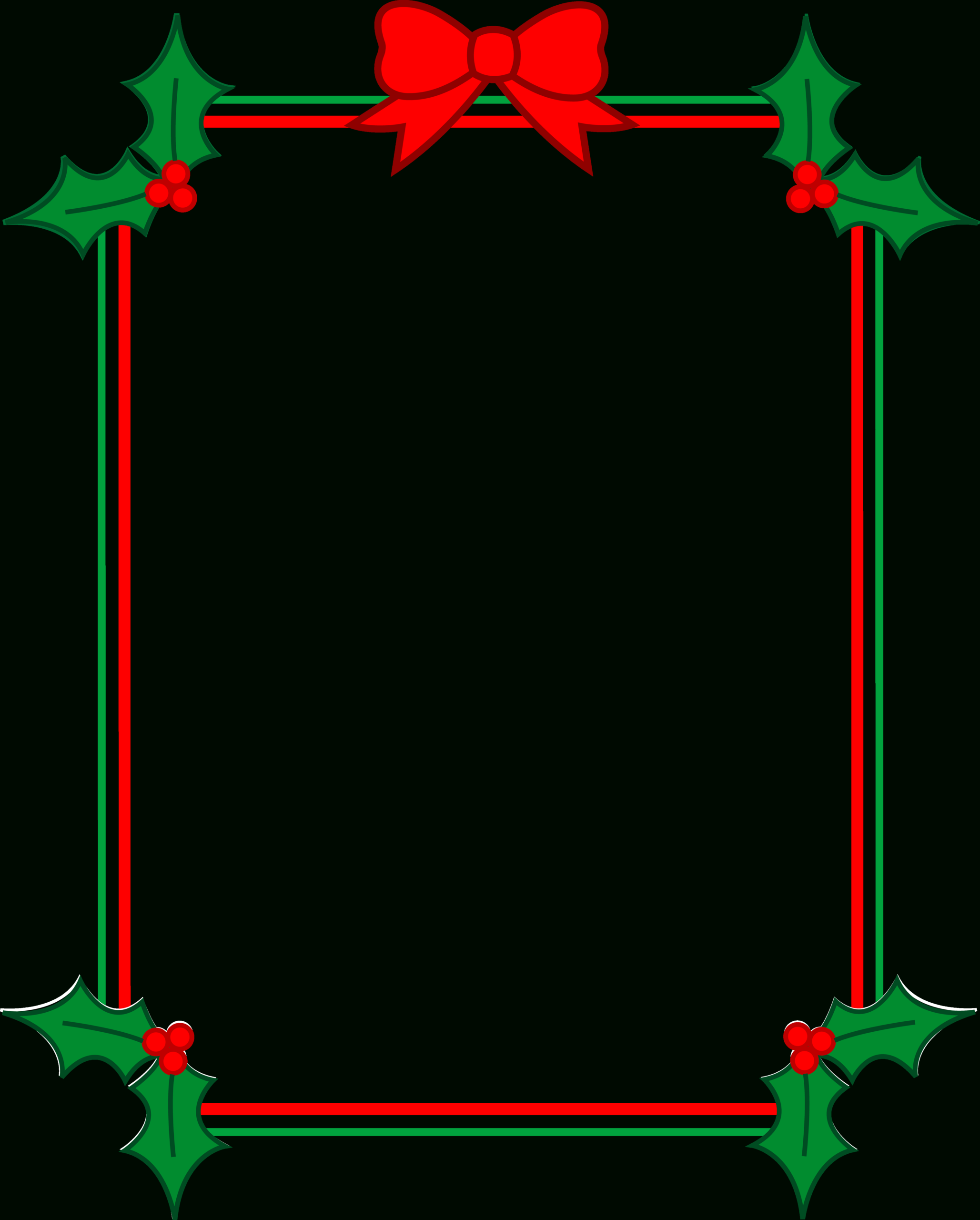 Holiday Borders For Word Documents - Yatay.horizonconsulting.co Regarding Christmas Border Word Template