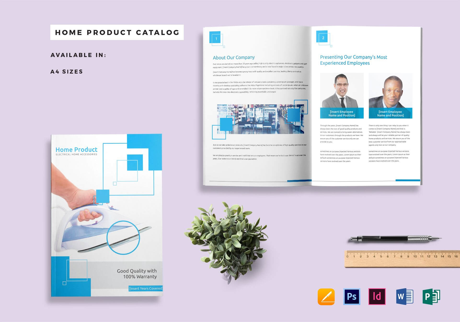 Home Product Catalog Template Pertaining To Catalogue Word Template