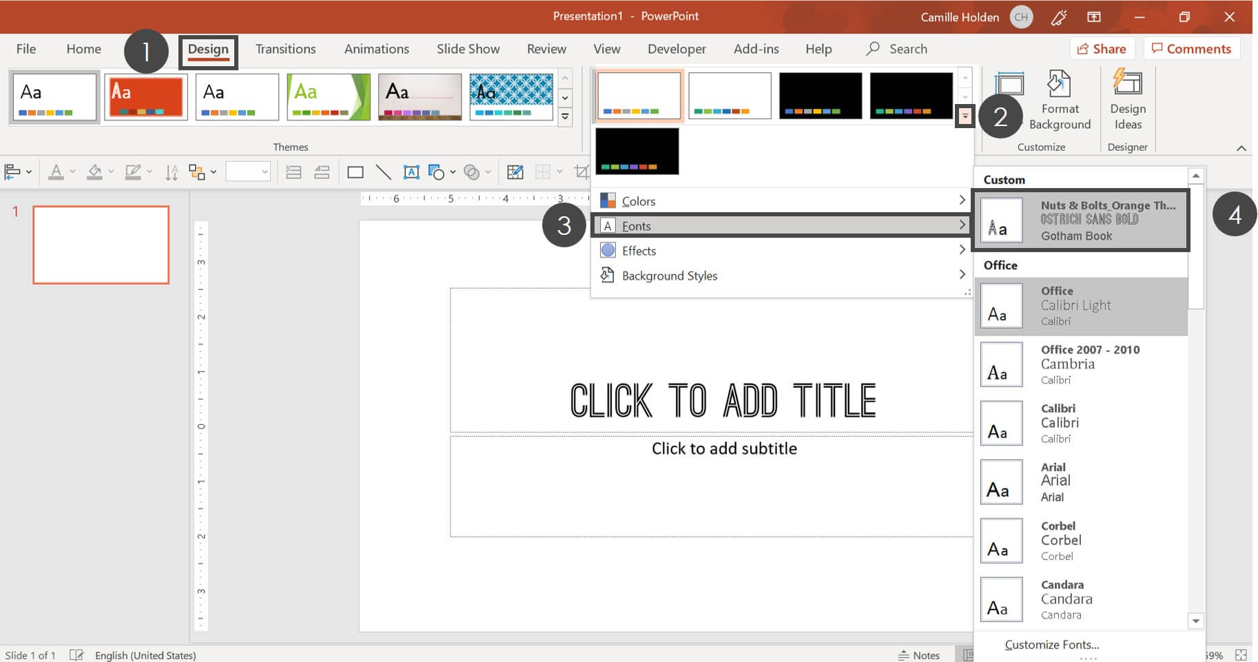 How To Create A Powerpoint Template (Step By Step) Intended For What Is A Template In Powerpoint