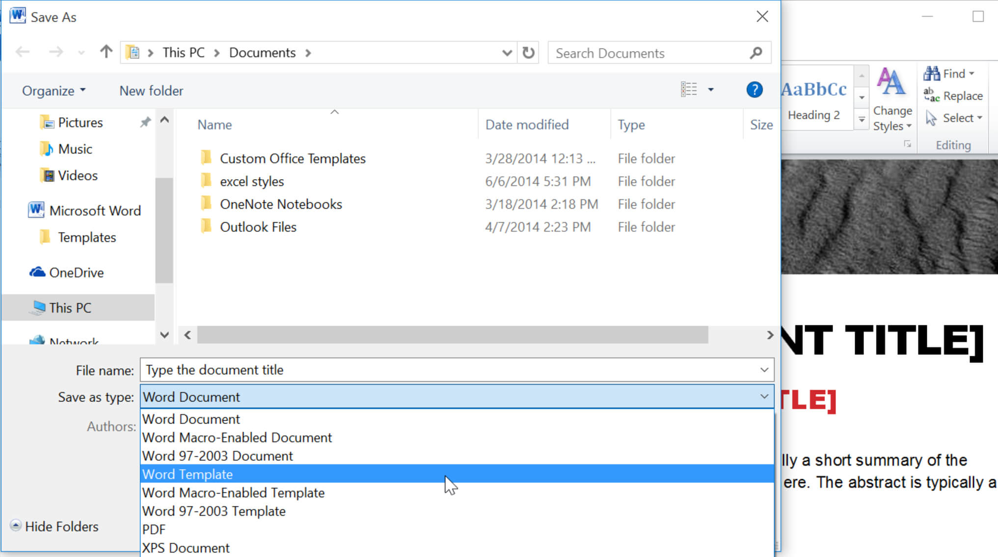 How To Create Effective Document Templates For Change The Normal Template In Word 2010