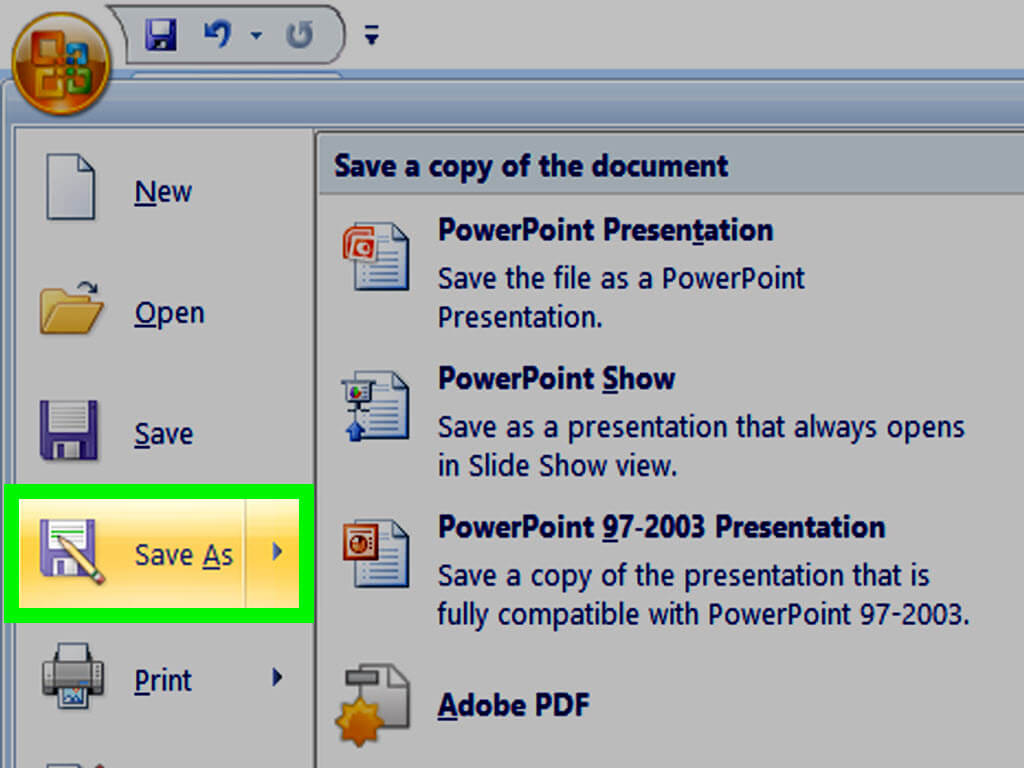 How To Make A Powerpoint Template: 12 Steps (With Pictures) In How To Save Powerpoint Template