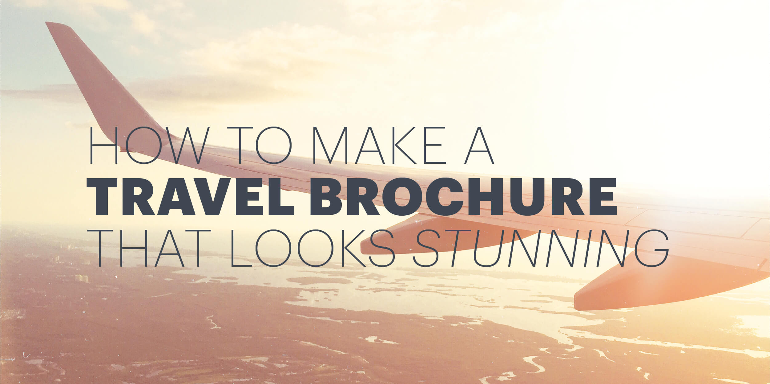 How To Make An Awesome Travel Brochure [With Free Templates] Pertaining To Travel Brochure Template For Students