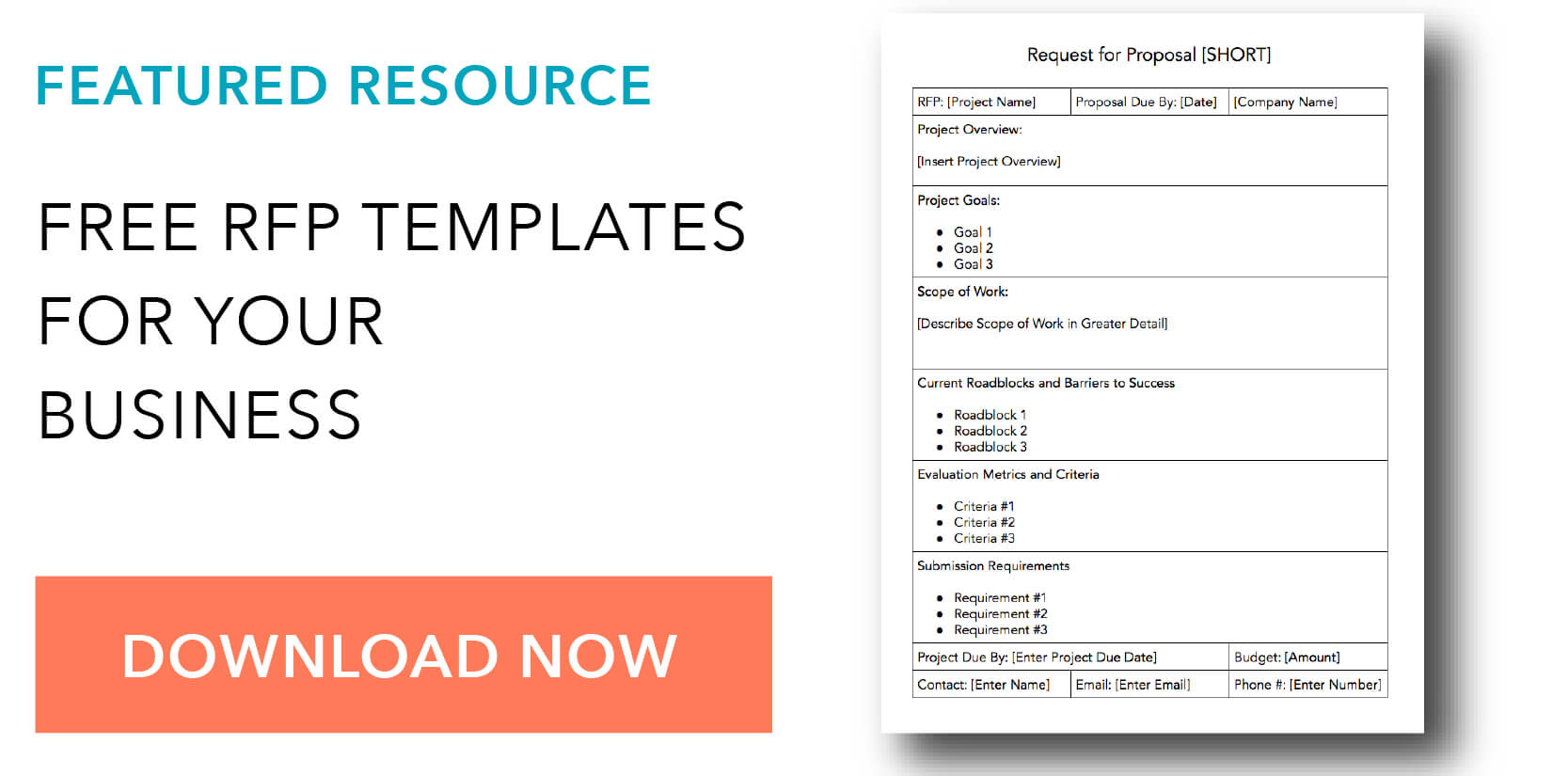How To Write A Request For Proposal, With Template And Sample Within Post Event Evaluation Report Template