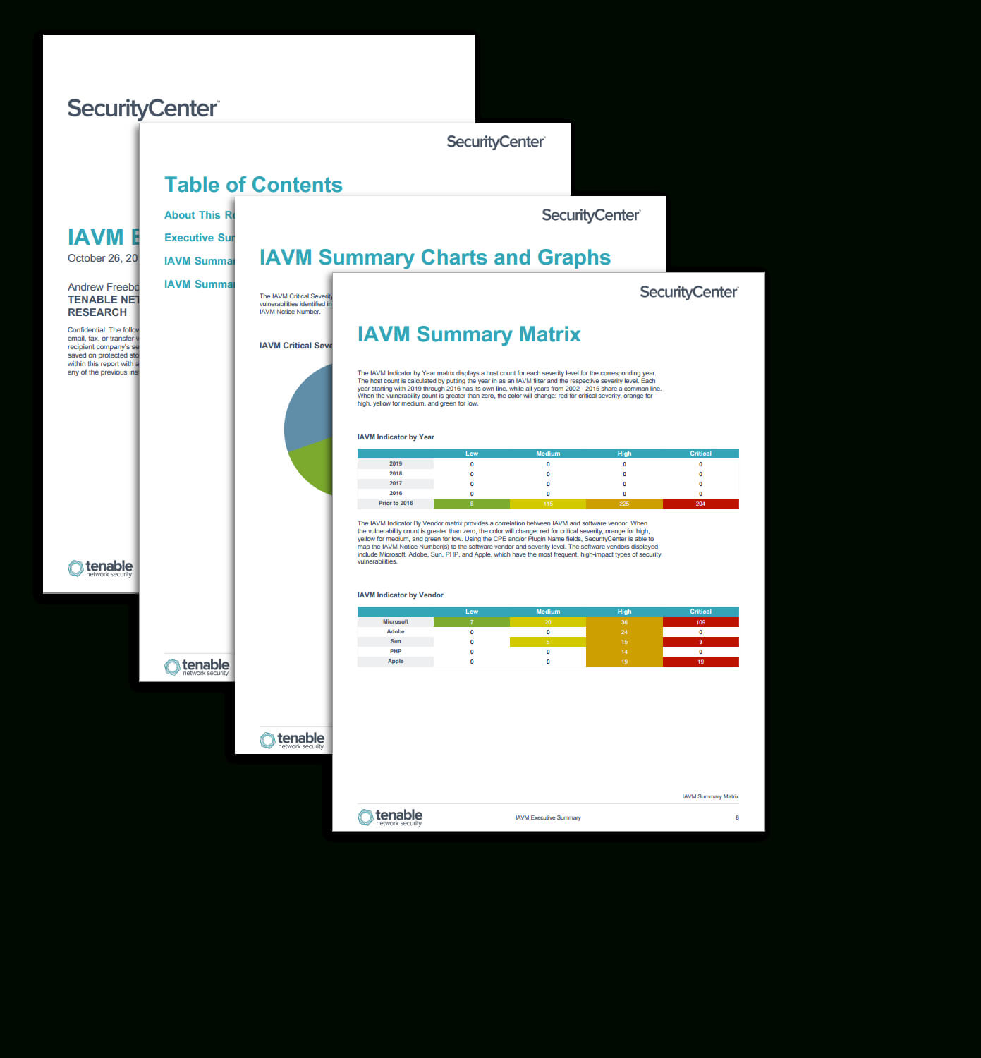 Iavm Executive Summary Report - Sc Report Template | Tenable® Inside Executive Summary Report Template