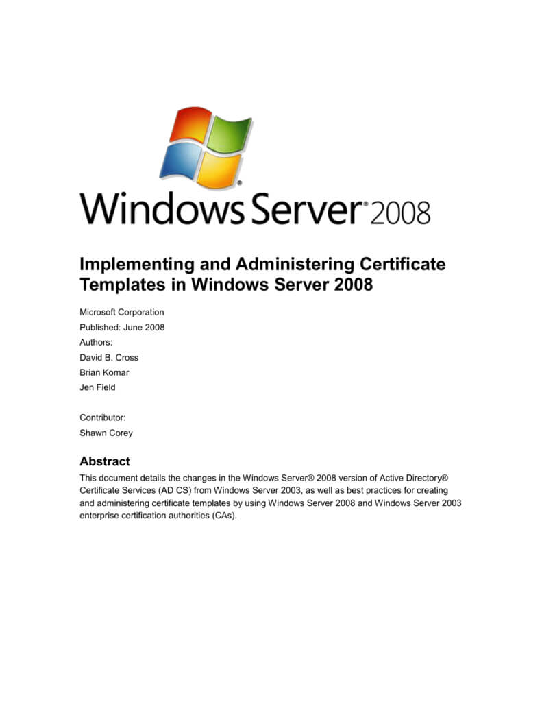 Implementing And Administering Certificate Templates Inside Certificate Authority Templates