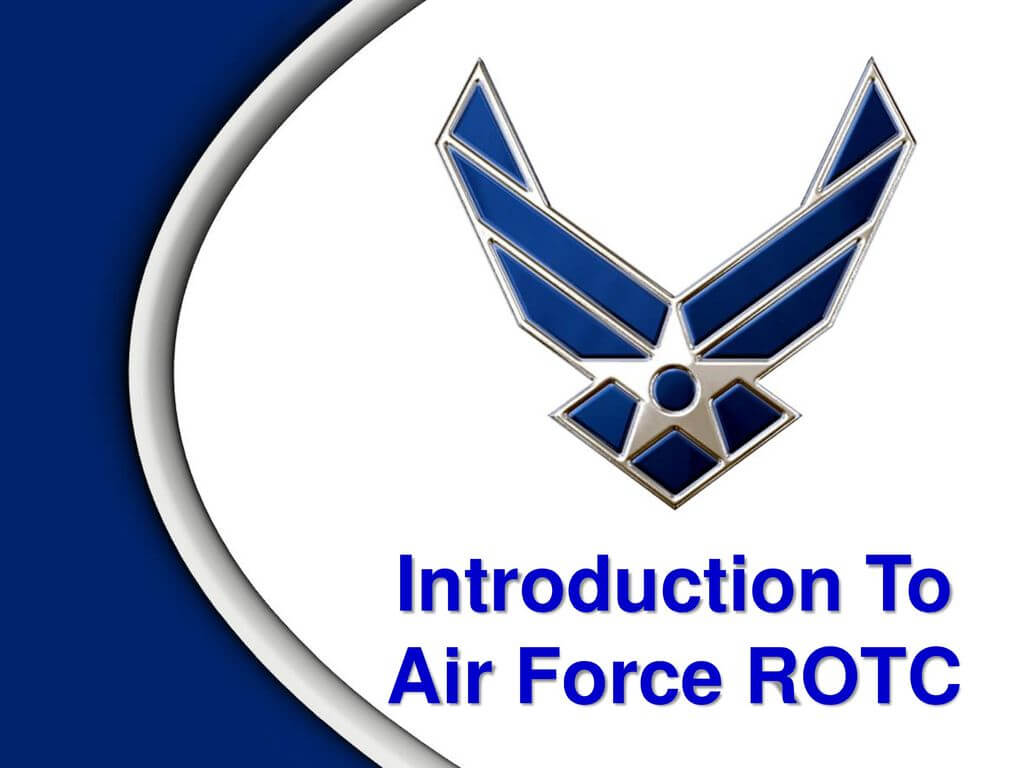 Introduction To Air Force Rotc - Ppt Download For Air Force Powerpoint Template