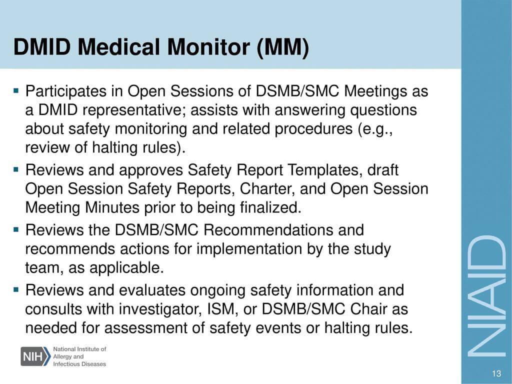 Investigator Training – Ppt Download Inside Dsmb Report Template