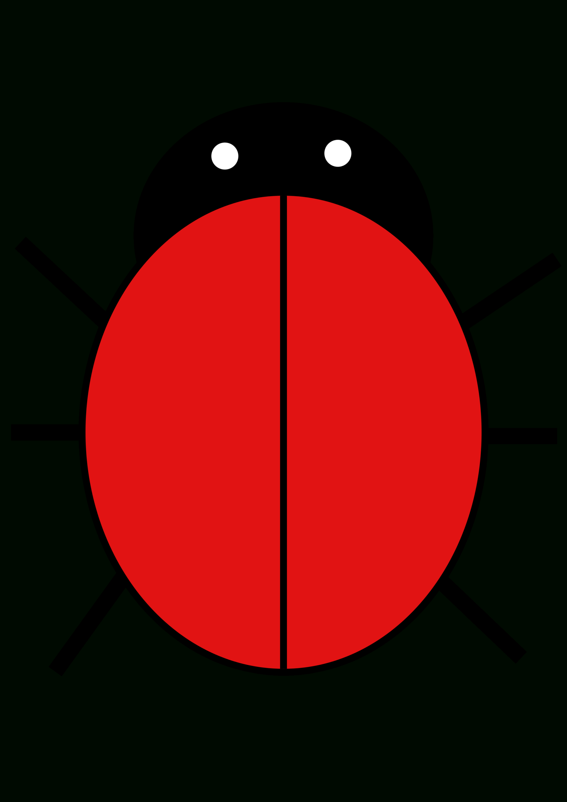 Ladybird | Free Images At Clker - Vector Clip Art Online With Regard To Blank Ladybug Template