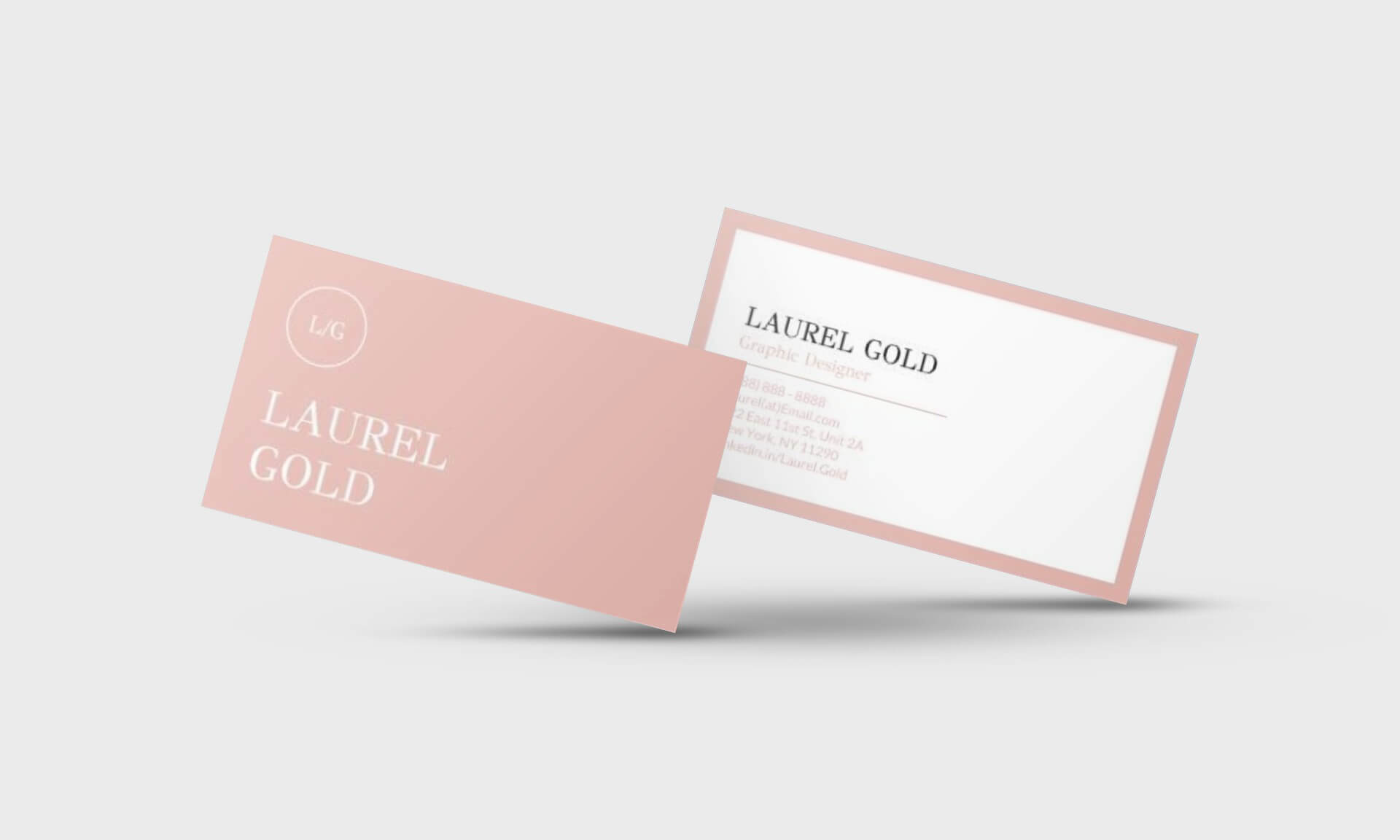 Laurel Gold Google Docs Business Card Template - Stand Out Shop Pertaining To Google Docs Business Card Template