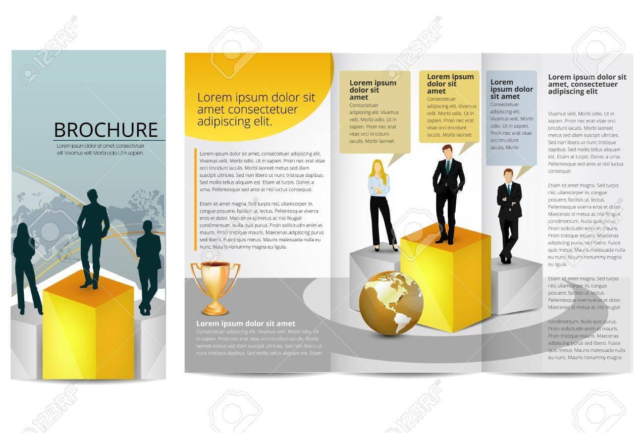 Leadership Training Progress Brochure Template In Training Brochure Template