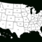 Library Of Map Of The United States Graphic Royalty Free Regarding United States Map Template Blank