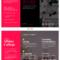 Magenta College Tri Fold Brochure Template With Regard To Tri Fold School Brochure Template