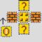 Mario Coin Block Perler Layout Perler Bead Pattern   Bead Inside Blank Perler Bead Template