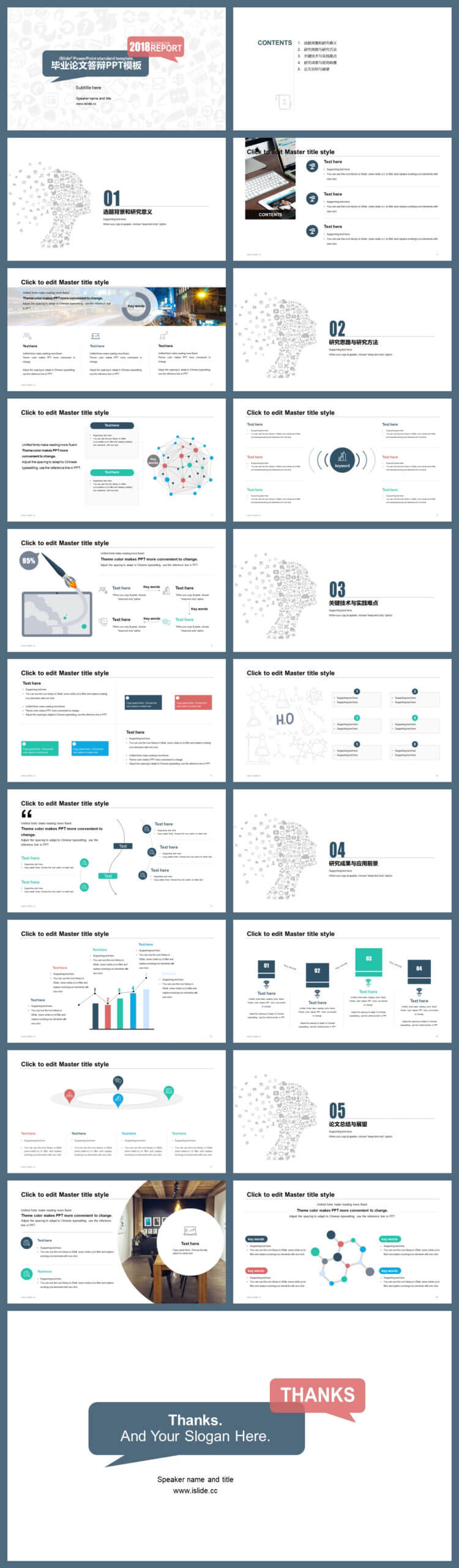 Master Thesis Defense Powerpoint Template – Just Free Slides In Powerpoint Templates For Thesis Defense