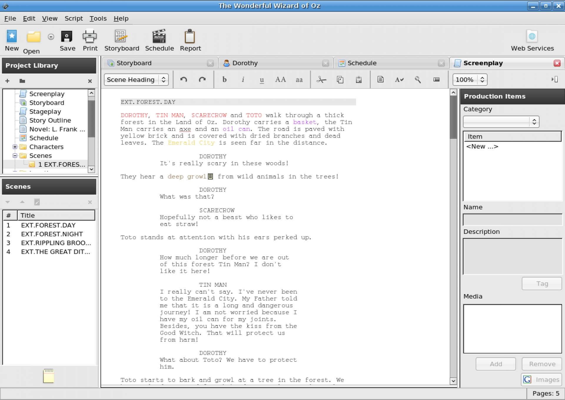 Microsoft Word Screenplay Template – C Punkt Pertaining To Microsoft Word Screenplay Template