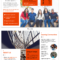 Modern Orange College Tri Fold Brochure Template With Regard To Student Brochure Template